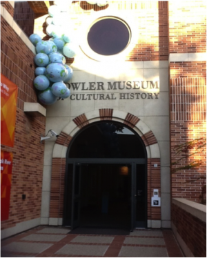 Front entrance of Fowler Museum