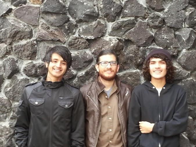 From left, Mario Mora, Omar Jimenez, Steve Jimenez