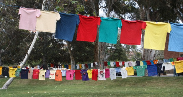 Clothesline Project at UCLA