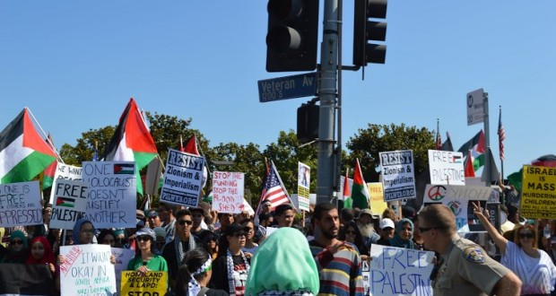 Israel-Palestine Conflict Spills Into Westwood Streets