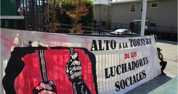 Outraged Demonstrators Demand the Return of Ayotzinapa Students