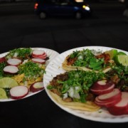 Choose from a varied menu. Tacos, burritos or tortas with different kinds of meats: asada, lengua, tripitas, carnitas, chicken, you ask for it. Most importantly you don't need to speak Spanish to order a meal. You can order in English if you'd like!