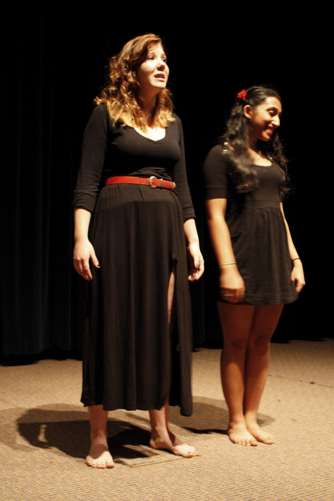 "Performed by Mitali Gupta and Laura Savage, ""My Vagina Was My Village"", tells the untold and devastating experiences of Bosnian women refugees."