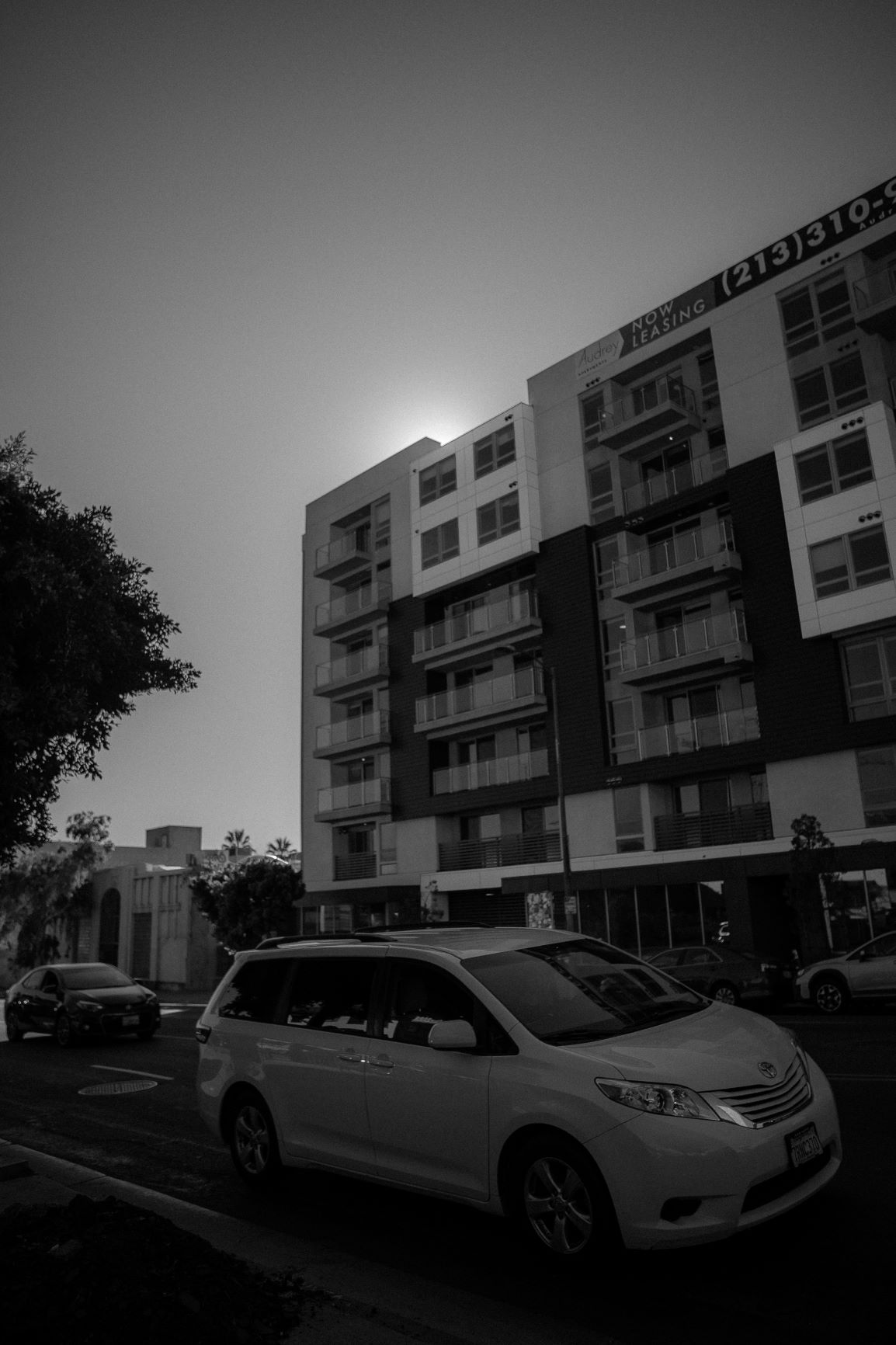 Image of apartment building in Koreatown