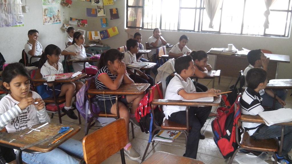 image of children in classroom